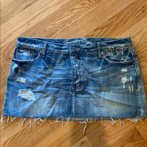 American Eagle jean skirt 🦅